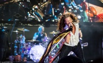 Steven Tyler performs with Aerosmith in Lake Tahoe